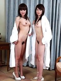 Hotties Rimu Endo and Ueno Misaki
