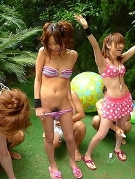 Japanese sluts with hairy pussies