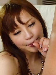Maomi Nagasawa has playful tits sucked and vagina fucked a lot