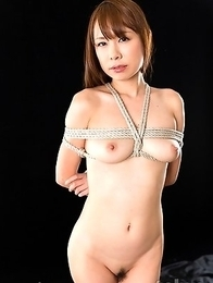 Miharu Kai loves being an obedient whore and endlessly gagging on cock.