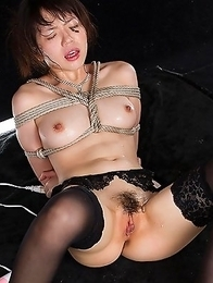 Japan wife Yuma Miyazaki is so horny shell do anything for cock.