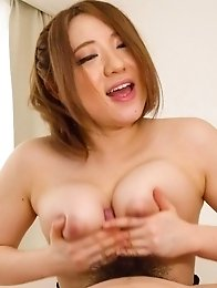 Alice Ozawa Asian licks woody and plays with it between fine tits